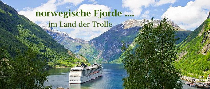 Kreuzfahrten norwegische Fjorde