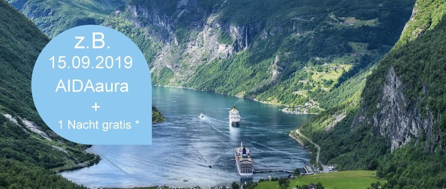 Aida Cruises ab Warnemünde, beim Einlaufen dabei sein, Mole Warnemünde, Kreuzfahrten in die norwegischen Fjorde