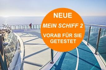 Neue Mein Schiff2 Kreuzfahrttest