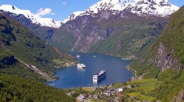 AIDAaura Norwegische Fjorde