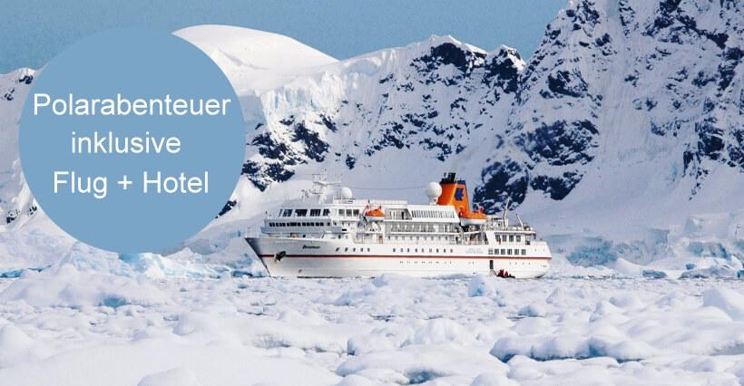 MS Bremen Grönland mit Flugpaket