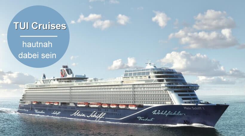 Kreuzfahrtn mit Flug von TUI Cruises